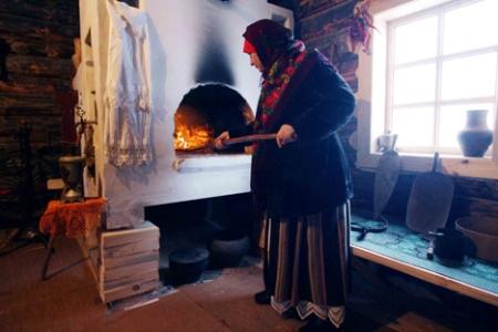 Праздник русской печки в этнодеревне под городом Боровском
