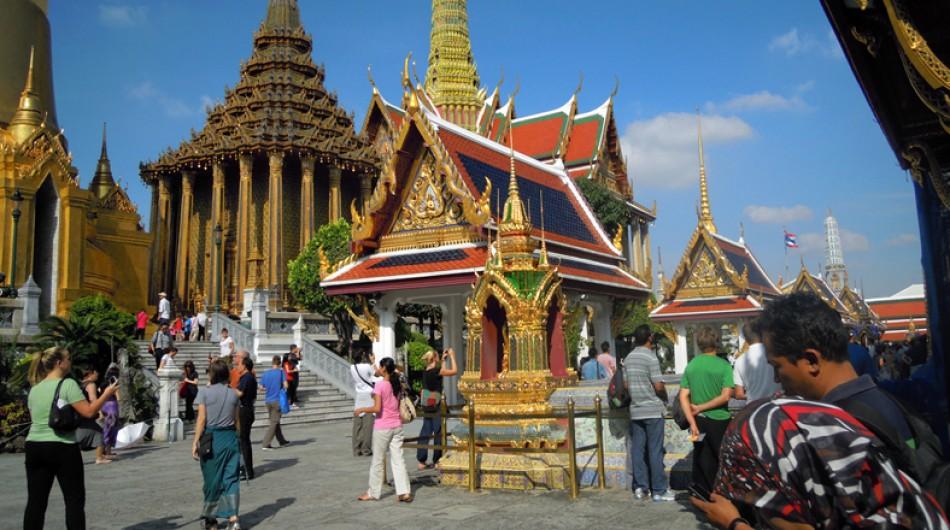 14 templos budistas como el Gran Palacio de Bangkok (Tailandia)